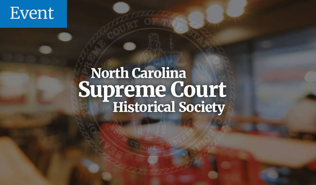 nc supreme court celebration 2018